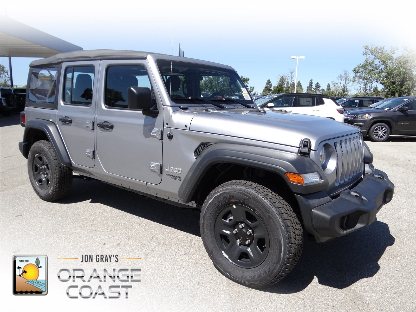 Superb New 2018 Jeep Wrangler Unlimited Sport