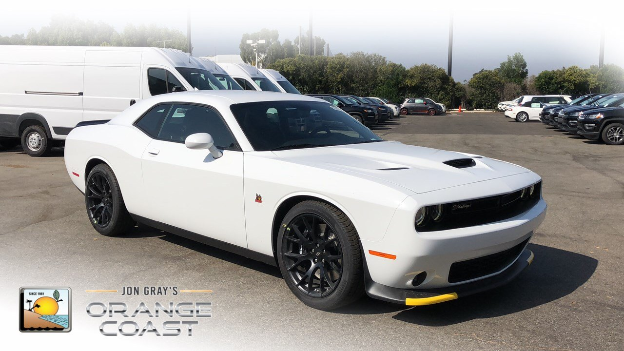 New 2019 Dodge Challenger R T Scat Pack 2dr Car In Costa Mesa