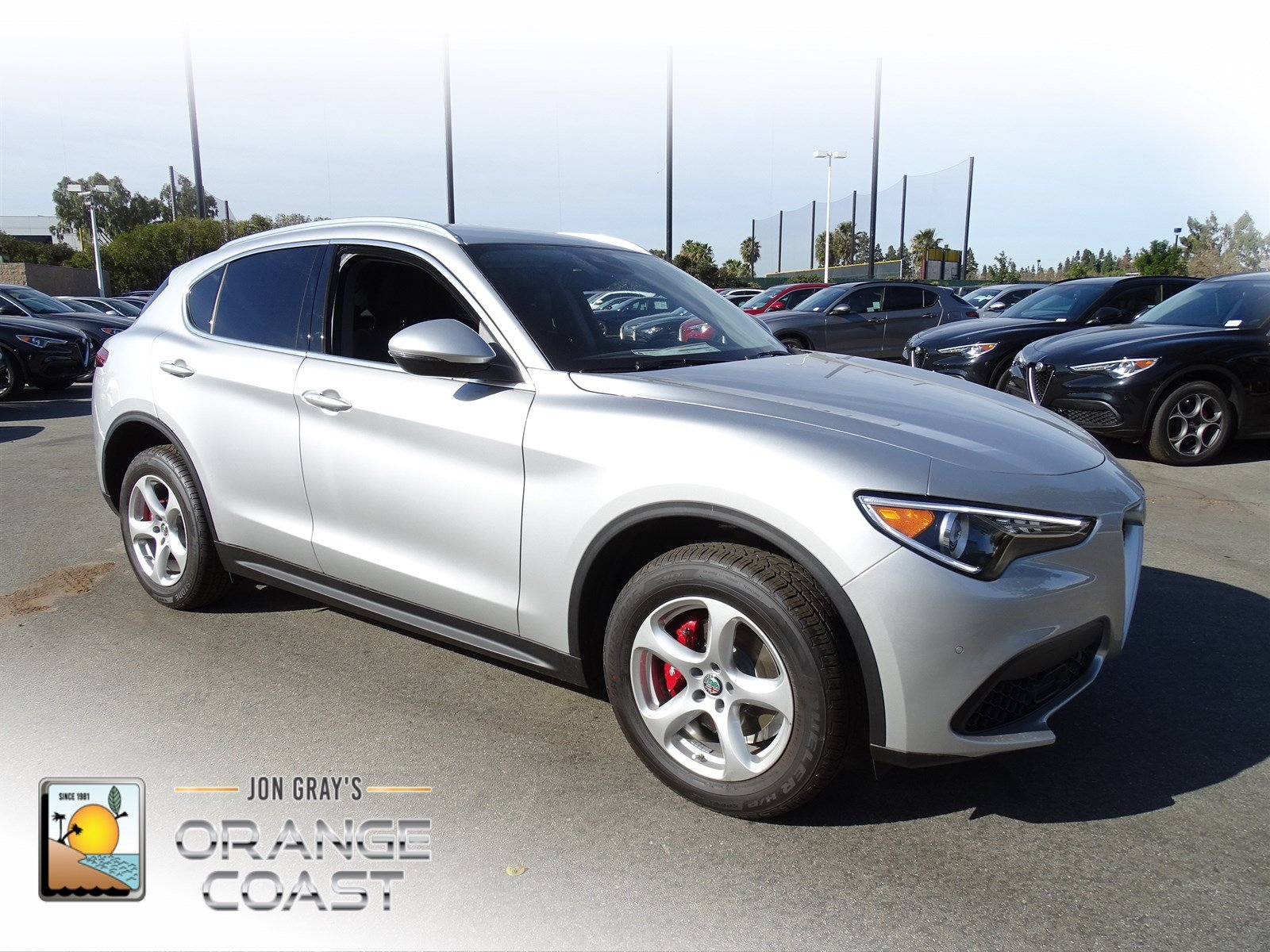 New 2018 Alfa Romeo Stelvio Sport Utility in Costa Mesa AS