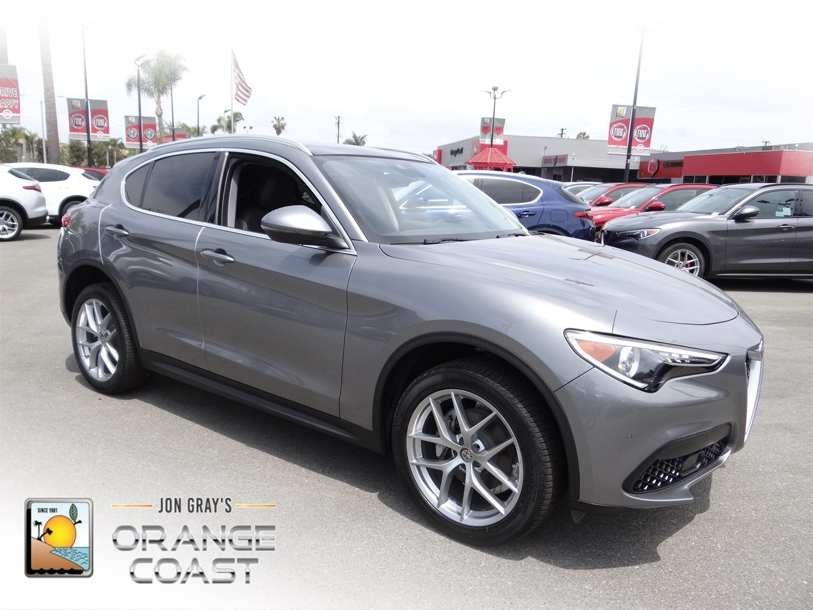 New 2018 Alfa Romeo Stelvio Ti Sport Utility in Costa Mesa AS